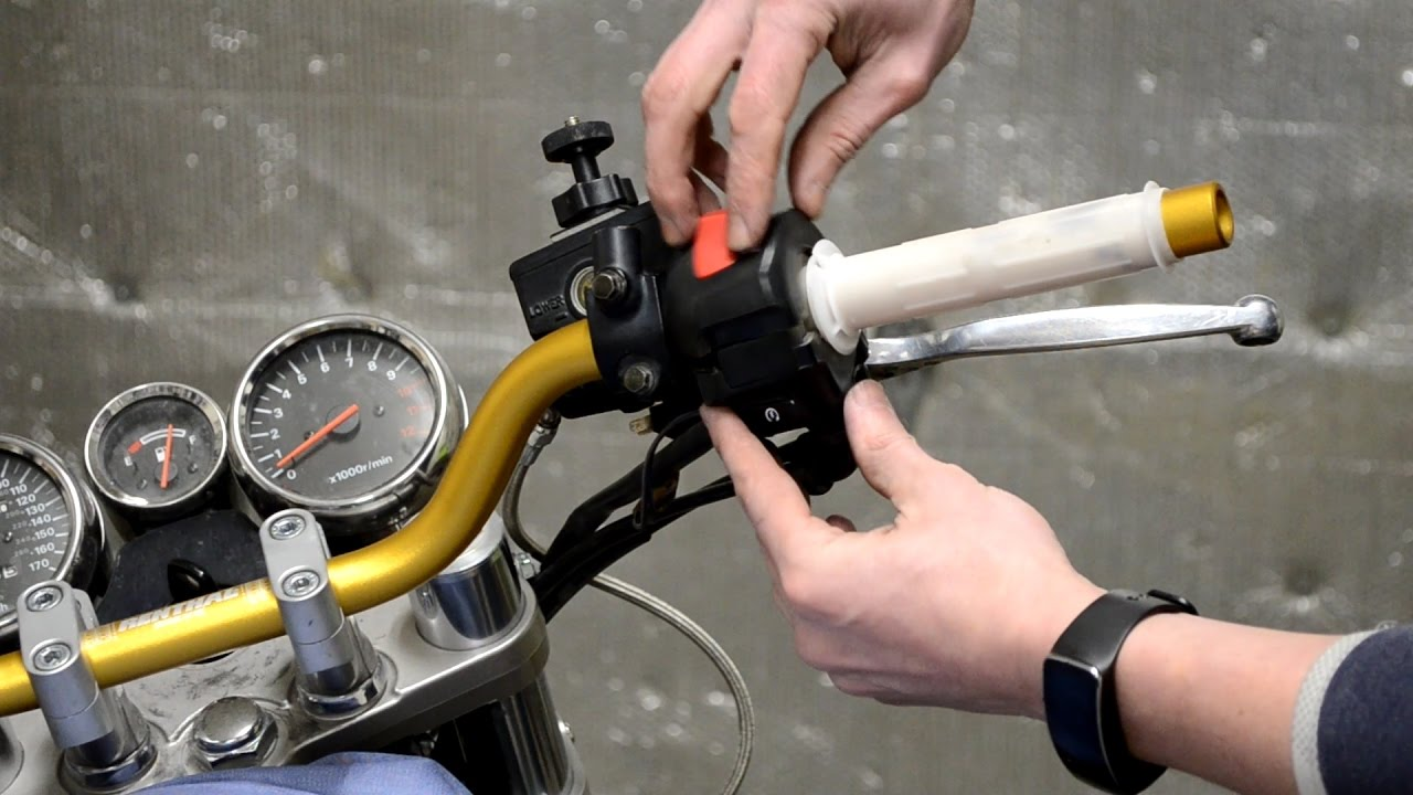 Installing renthal road low handlebars on a 97 suzuki bandit gsf1200s oem comparison review