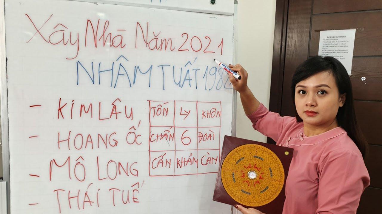 Xem Tuổi Làm Nhà Năm 2021 Tuổi NHÂM TUẤT 1982 Được Lộc Trời Cho Giàu Sang Phú Quý Trọn Đời