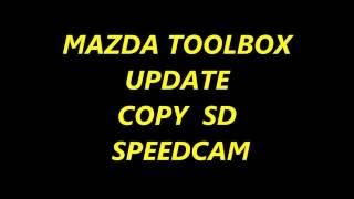 MAZDA SD COPY  SPEEDCAM