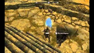 Elder Scrolls Skyrim Evil in Waiting Valthume Tomb and Shout Life Aura Whisper pt 3.avi