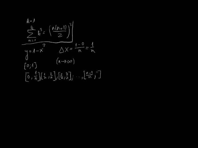 A véges összegek határértéke és a szumma jel - 2. rész