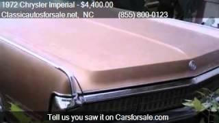 1972 Chrysler Imperial  for sale in Nationwide, NC 27603 at #VNclassics