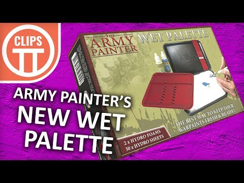 Army Painter Release New Wet Palette