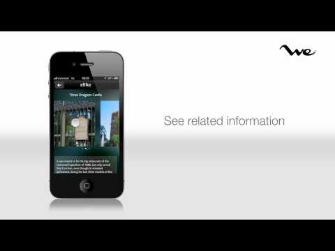 WeBarcelona.com / Electric Bike Self guided tour Barcelona by iPhone app