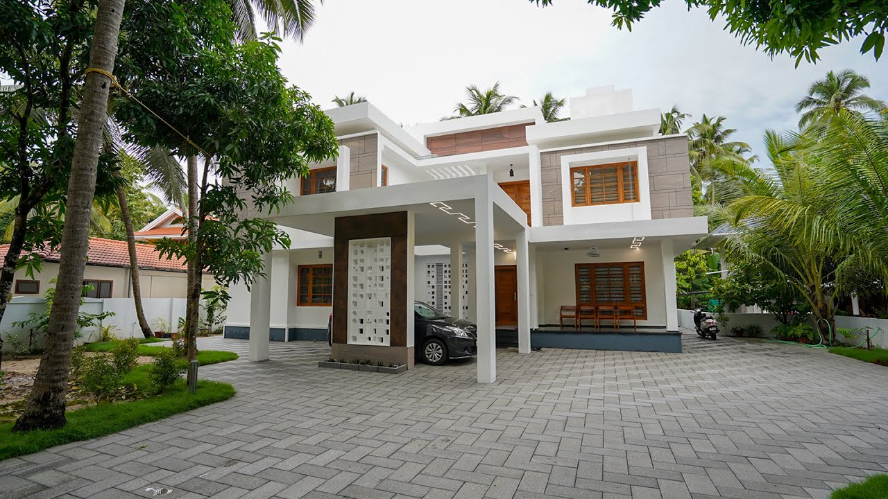 Brand new eye catching double story home with superb interior | Video tour