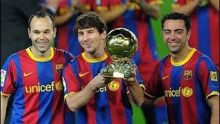 Что творили Месси, Хави и Иньеста, когда играли вместе / The best of Xavi, Messi & Iniesta