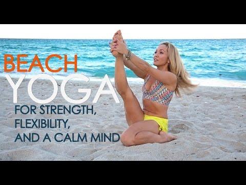 Beach Yoga for Strength, Flexibility and a Calm Mind