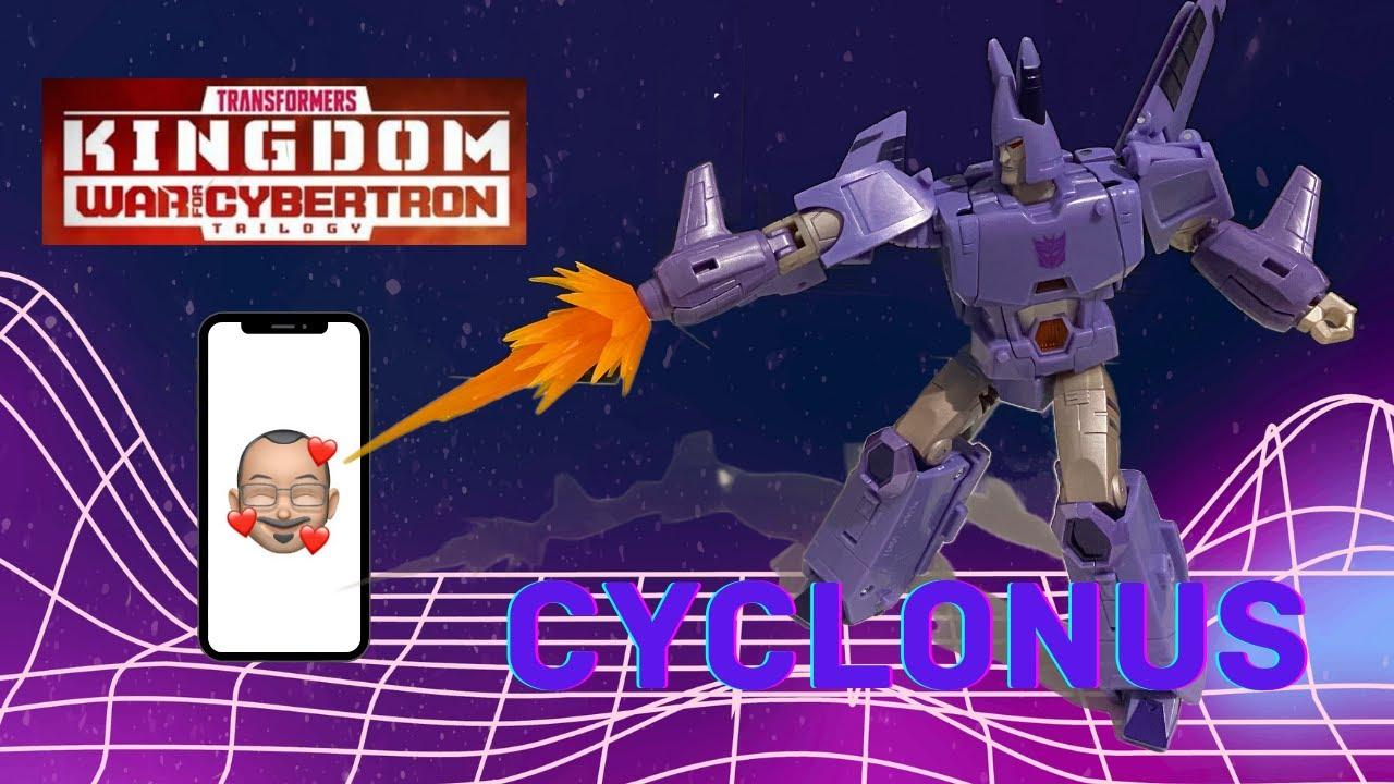Transformers Kingdom Cyclonus Review by Aikavari