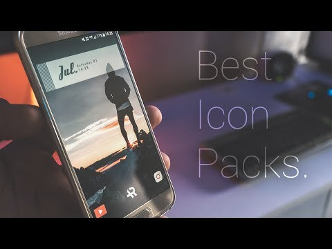 Top 5 Best Icon Packs For Android(2017)!