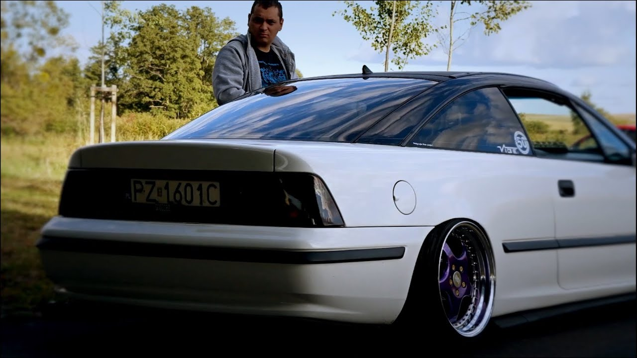 bagged opel calibra by ukasz 2k15 11 dropped tv youtube. Black Bedroom Furniture Sets. Home Design Ideas