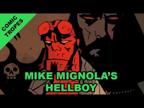 Comic Tropes 74: Mike Mignola's Hellboy is Horror Comics Done Right