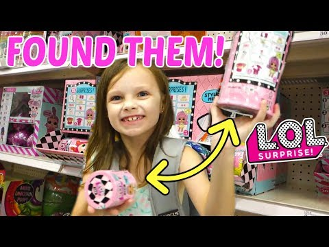 Toy Shopping at Target for LOL Dolls and Back to School! | Mommy Etc