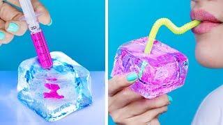 9가지 DIY 얼음을 이용한 간식과 아이디어! 대왕 오레오 아이스크림 만들기