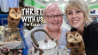 Someone DUMPED Their Collection at Goodwill and I bought it. | Thrift With Us | Reselling