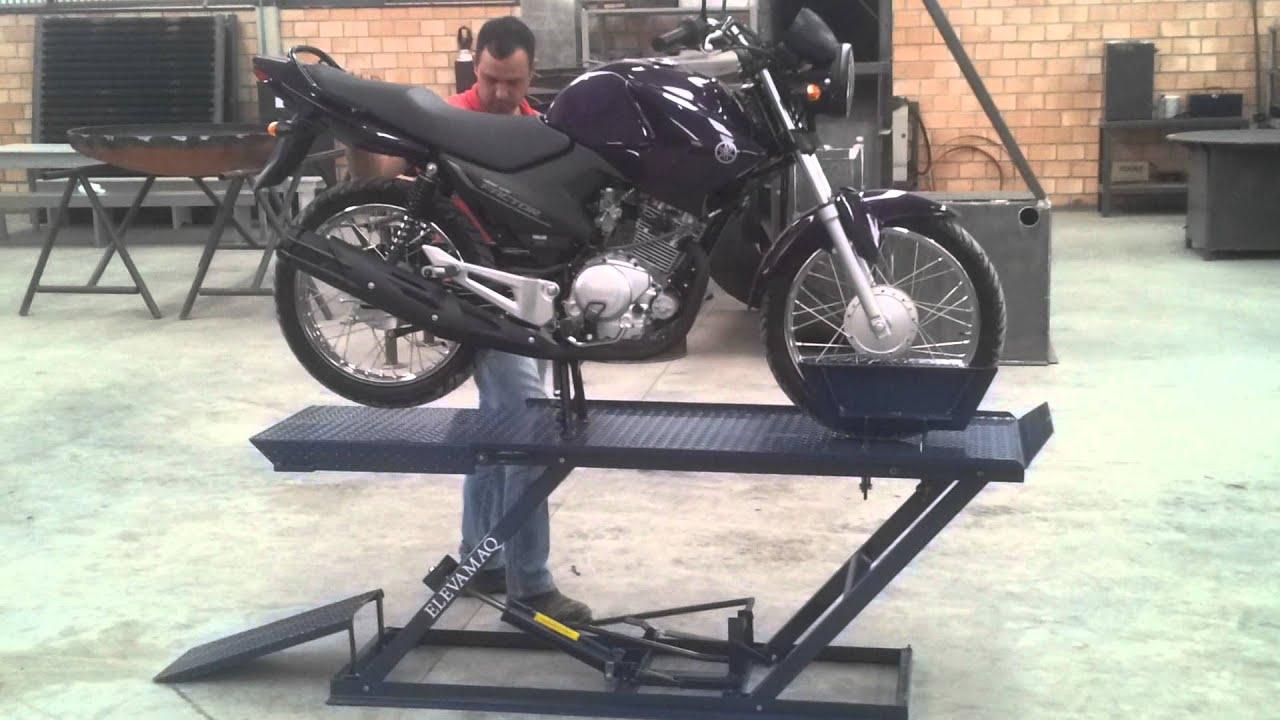 elevador para motos 350 kg elevador de motos youtube. Black Bedroom Furniture Sets. Home Design Ideas