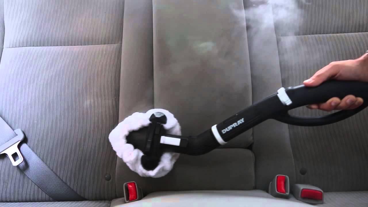 C mo limpiar la tapicer a de un autom vil con un limpiador de vapor youtube - Limpiar azulejos con vaporeta ...
