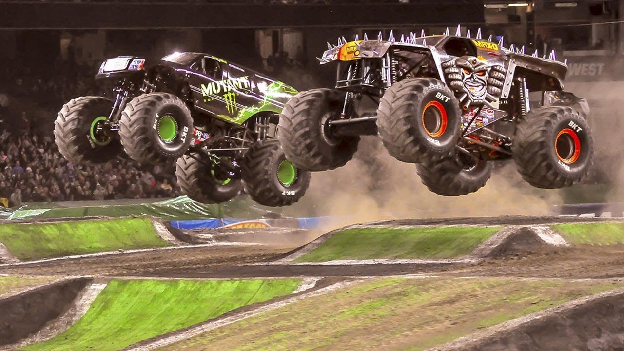 Download BEST Monster Truck Freestyle Moments Compilation #1