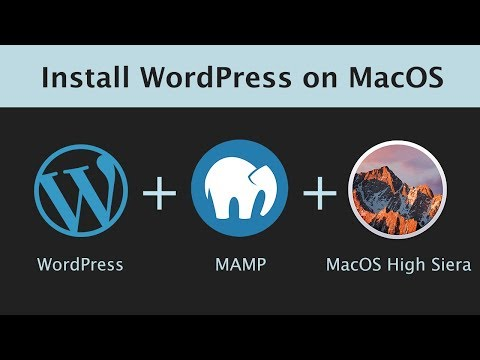 How to Install WordPress on Mac OS with MAMP