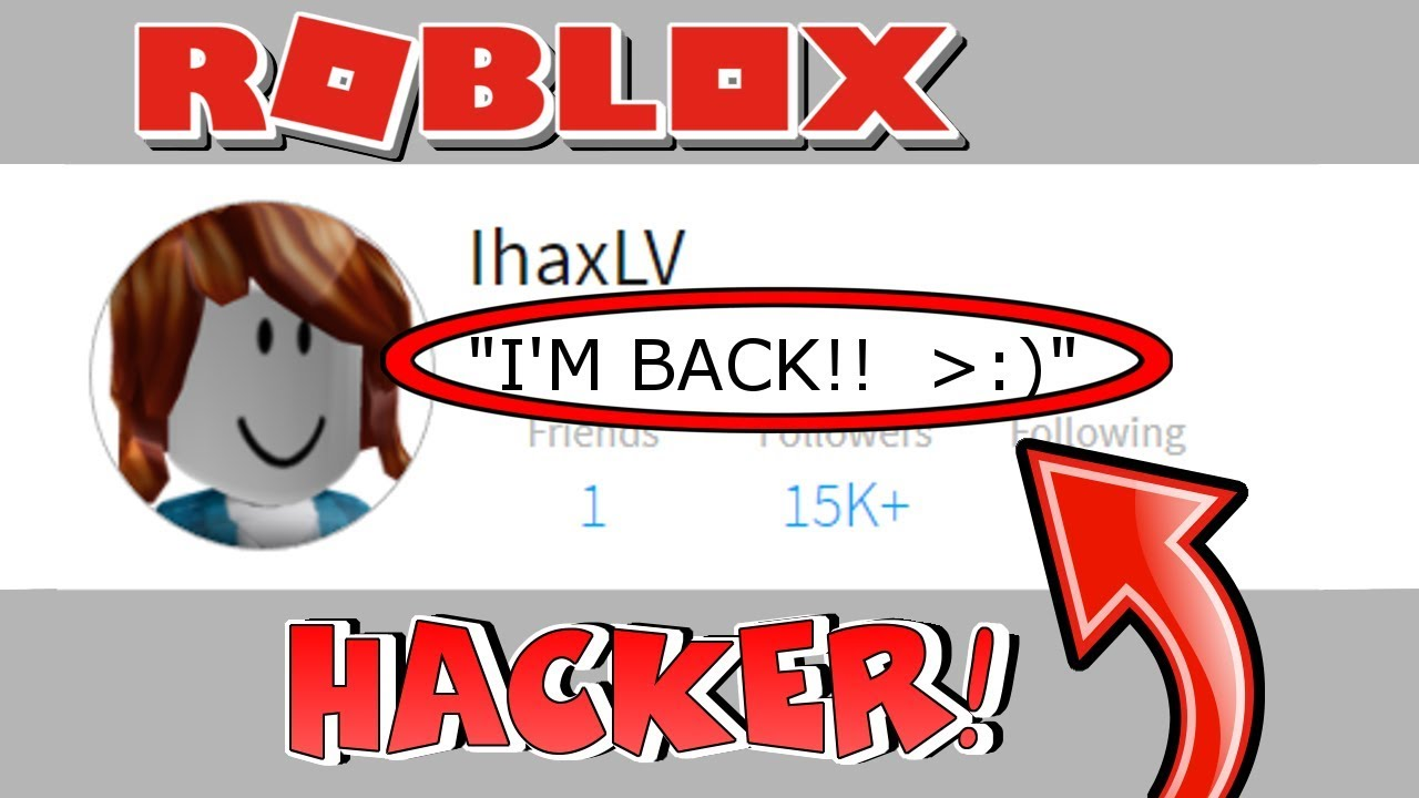 Famous hackers on roblox