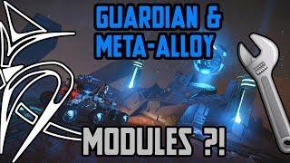 Guardian VS Meta-alloy VS normal & engineered MODULES [Elite Dangerous]