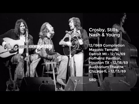 Crosby, Stills, Nash and Young Live in December, 1969 Compilation SBD