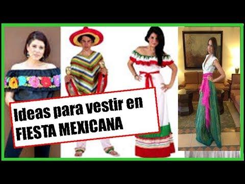 En 2 Minutos Te Digo Como Vestir En Una Fiesta Mexicana16 De Septiembre 5 De Mayo
