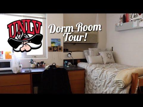 UNLV DORM ROOM TOUR   Flying Home Again!