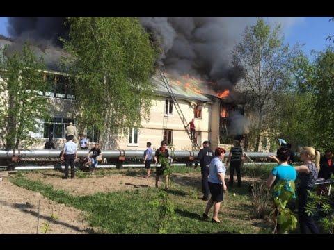 Полицейские Белоярского района ХМАО - Югры спасли на пожаре 25 человек