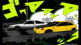 Initial D - Forever Young ( HD + LYRICS + DOWNLOAD)