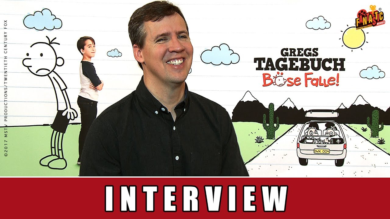 Gregs Tagebuch - Böse Falle - Interview | Jeff Kinney