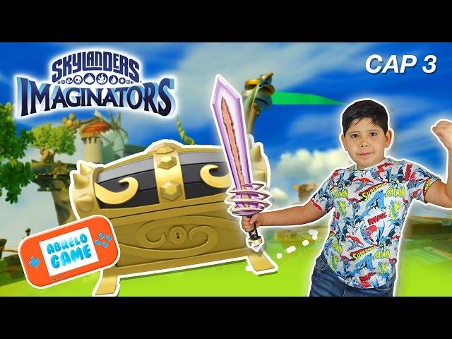 Skylanders Imaginators Gameplay en espan?ol Abrelo Game Cap 3