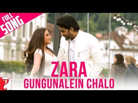 Zara Gungunalein Chalo - Full Song | Laaga Chunari Mein Daag | Rani Mukerji | Abhishek Bachchan