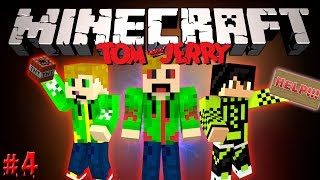 Minecraft: Том и Джерри! #4 - Шахидка!