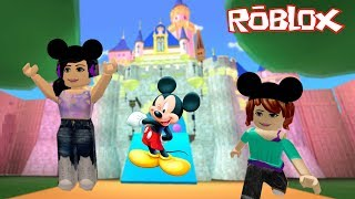 ROBLOX-STROLLING THROUGH DISNEY MOVIES (Disney Pixar Obby) | Luluca Games
