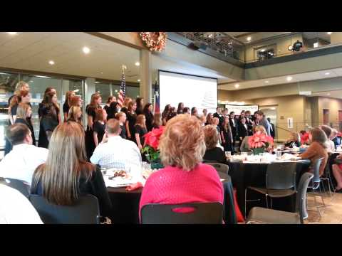 Tomball Highschool Christmas Choir