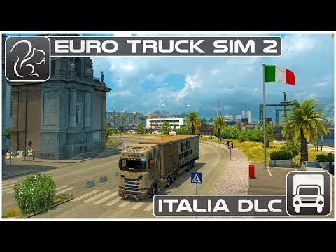 Italia DLC (Euro Truck Simulator 2) - First Look