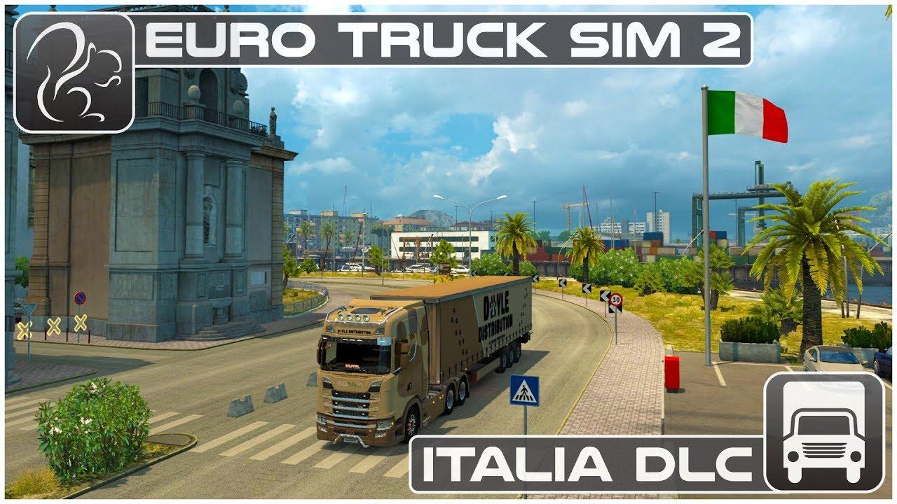 Italia DLC (Euro Truck Simulator 2) - First Look