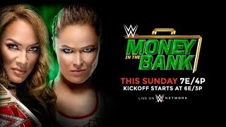 WWE Money In The Bank 2018 Live Reaction and Discussion 17/06/2018