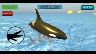 Crocodile Simulator Beach Hunt Android Gameplay #28