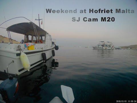 Weekend at Hofriet Malta   Action Cam   Sjcam M20