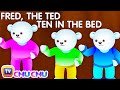 Download Ten In The Bed Nursery Rhyme With Lyrics - Cartoon Animation Rhymes & Songs for Children