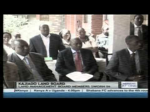 Kajiado County swears in Land Management Board Members to settle land issues