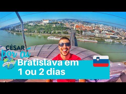 BRATISLAVA, ESLOVÁQUIA - LESTE EUROPEU, WALKING TOUR E DISCO VOADOR (Lugares do Mundo #18)