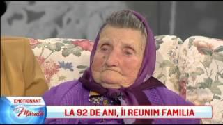 Bunica Maria, surpriza emotionanta in direct