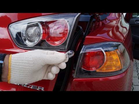 Mitsubishi Lancer – Rear Right Lights Replacement