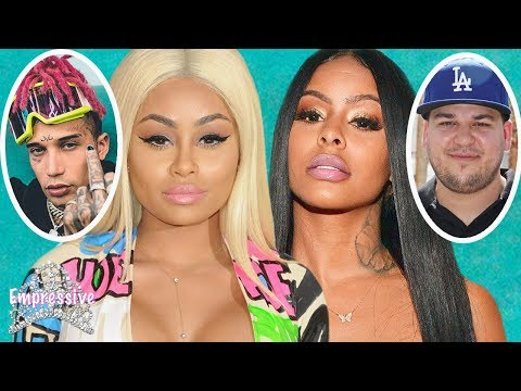 Messy DRAMA: Blac Chyna vs Alexis Skyy Rob Kardashian and Kid Bluu