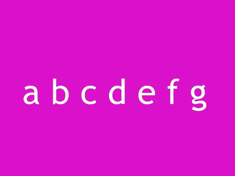 ABCDEFG - The Alphabet Song - The Nursery Rhyme Collections