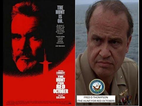 FRED D THOMPSON (the hunt for red october) 1990