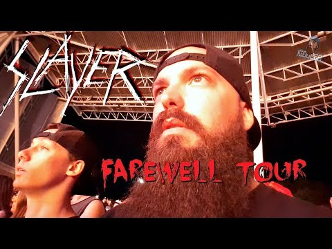 IT'S RAINING BLOOD! | Slayer Farewell Tour Vlog