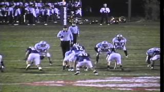 James Romanowski Senior Year Football 2010- Kenston High School